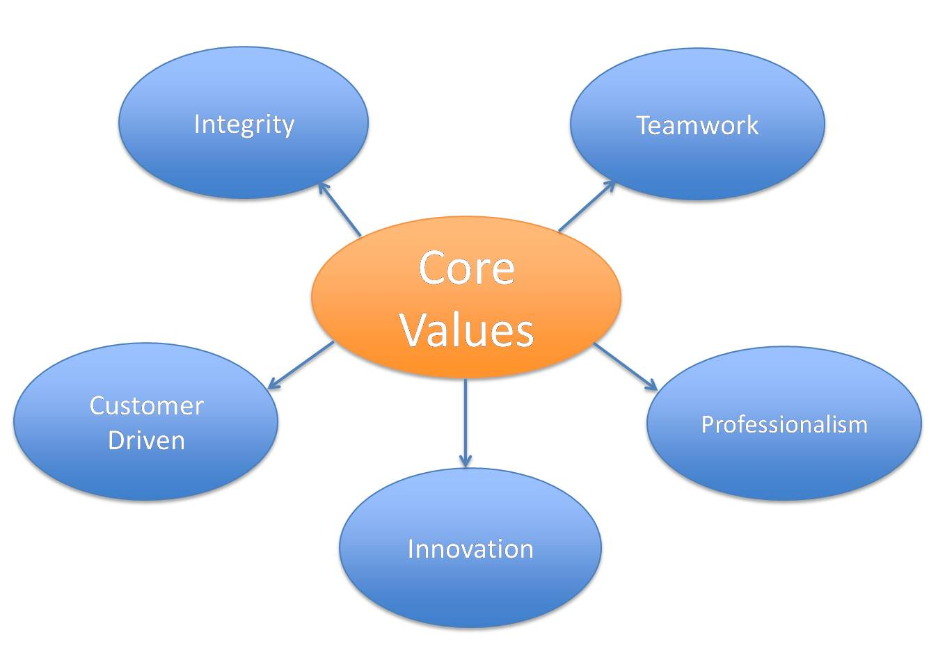 Core Values of NLCS