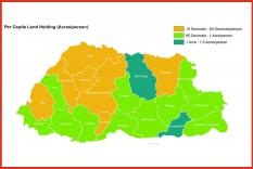 Bhutan Land Information at Glance